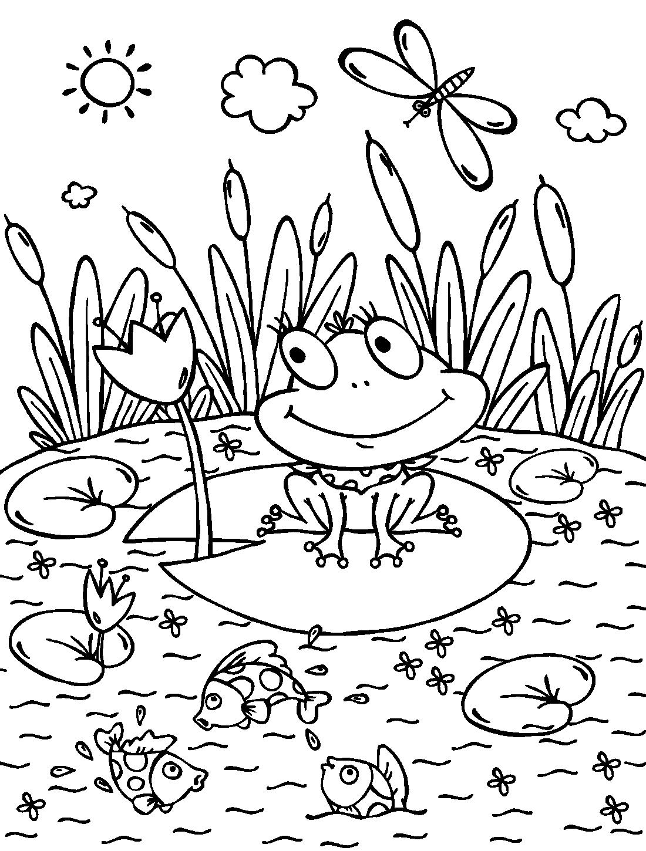 Раскраски для детей раскрашивать - 9