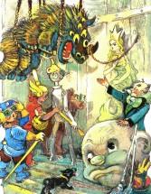Раскраски по сказке Волшебник Изумрудного Города