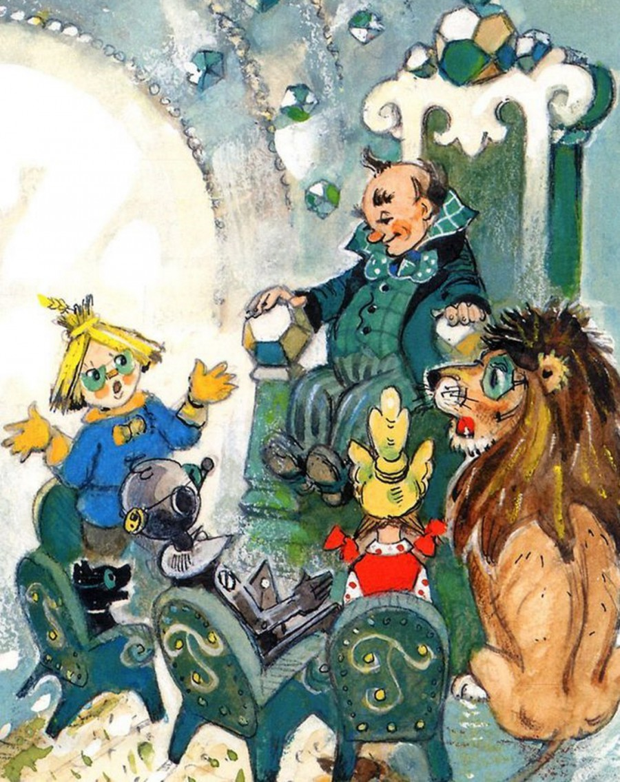 Картинка из мультфильма волшебник изумрудного города 5