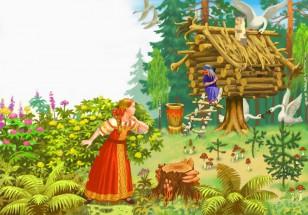 Картинки со сказки о мертвой царевне и семи богатырях