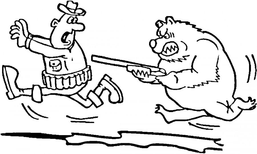 раскраска охотника раскраска охотник детские раскраски