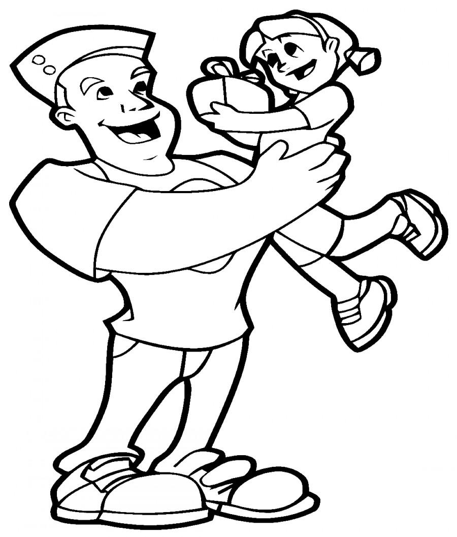Как нарисовать открытку на день рождения папе картинки 5