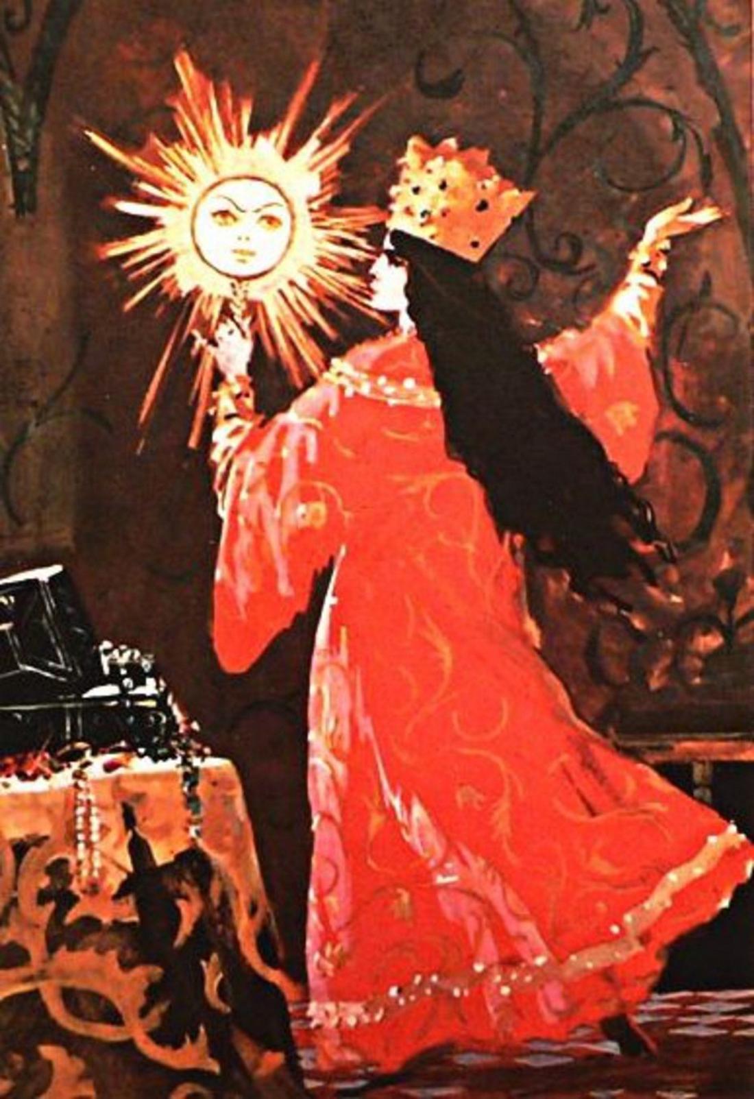 Сказка о мертвой царевне и о семи богатырях картинки распечатать