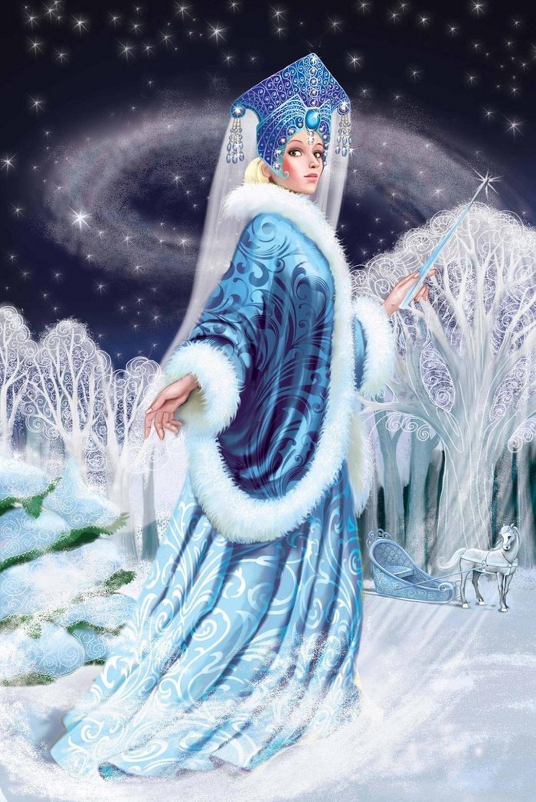 картинки королевы снежной