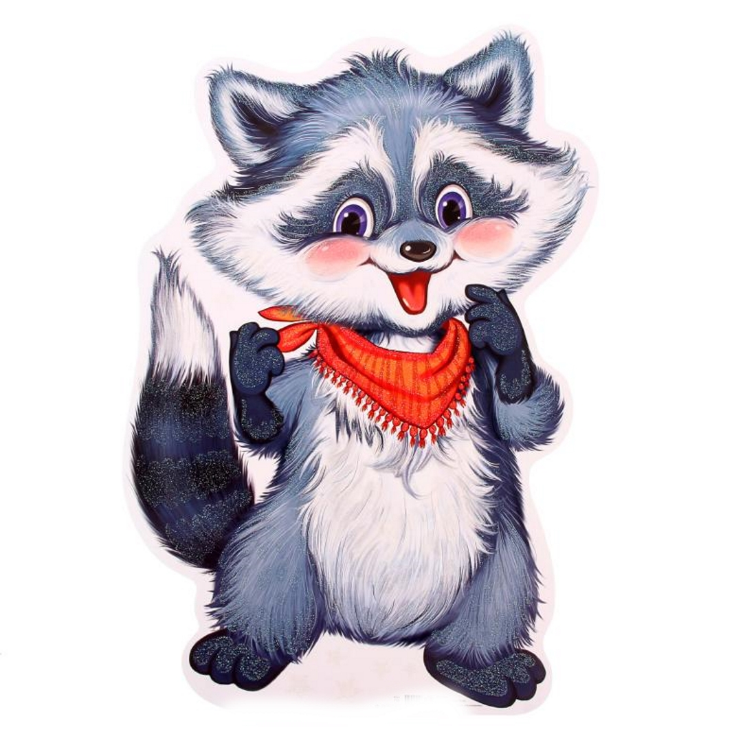 Raccoon pictures for kids to color ASL American Sign Language
