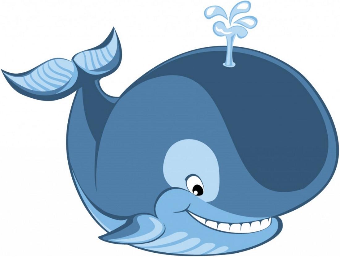 фото для детей кит