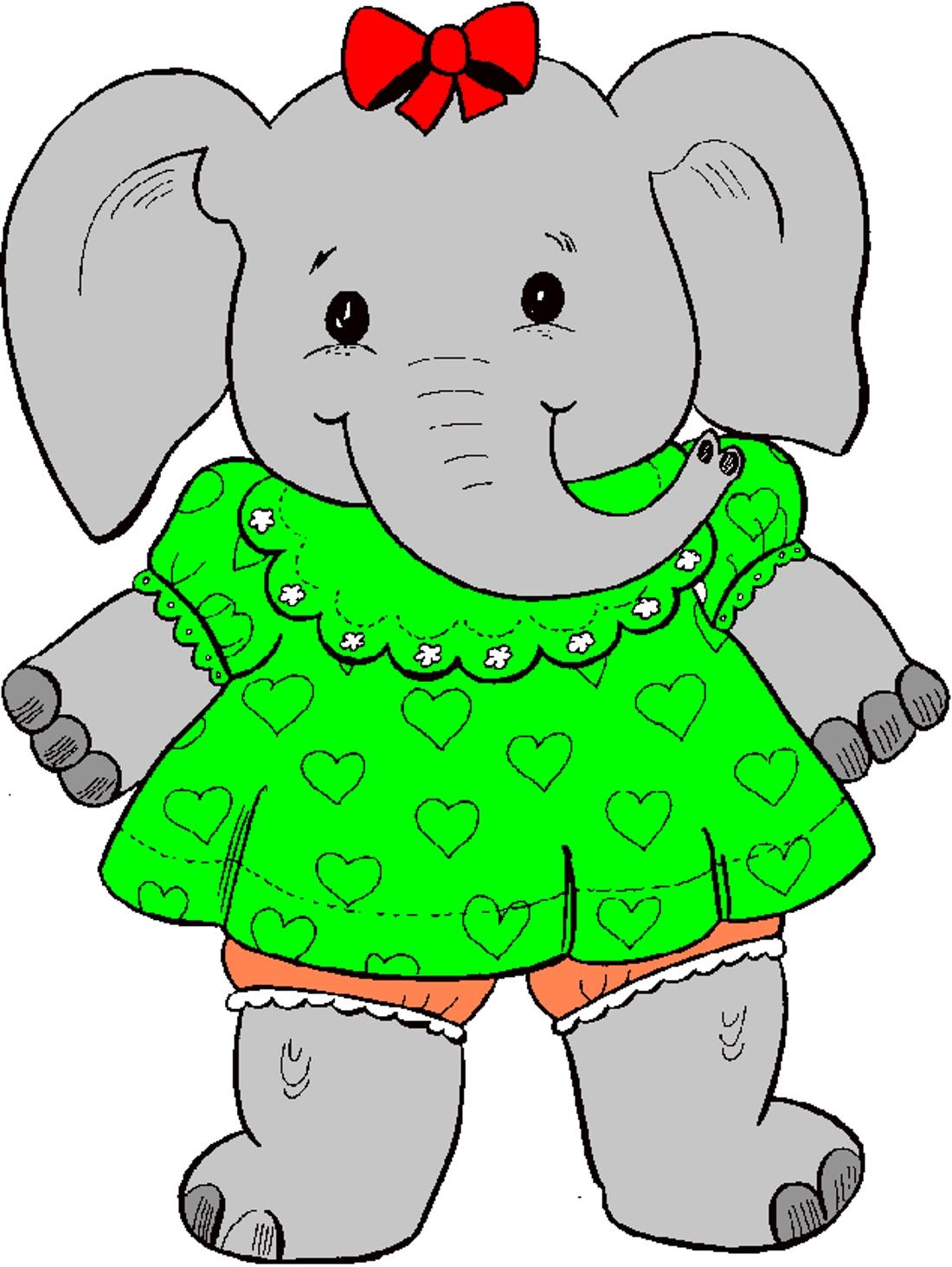 Картинки для детей слон