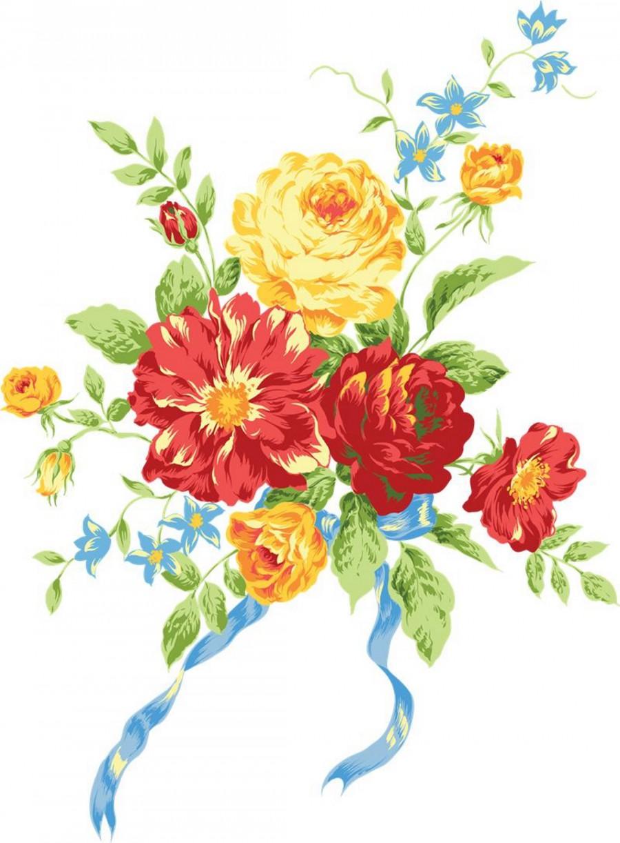 Букеты цветов фото нарисованных