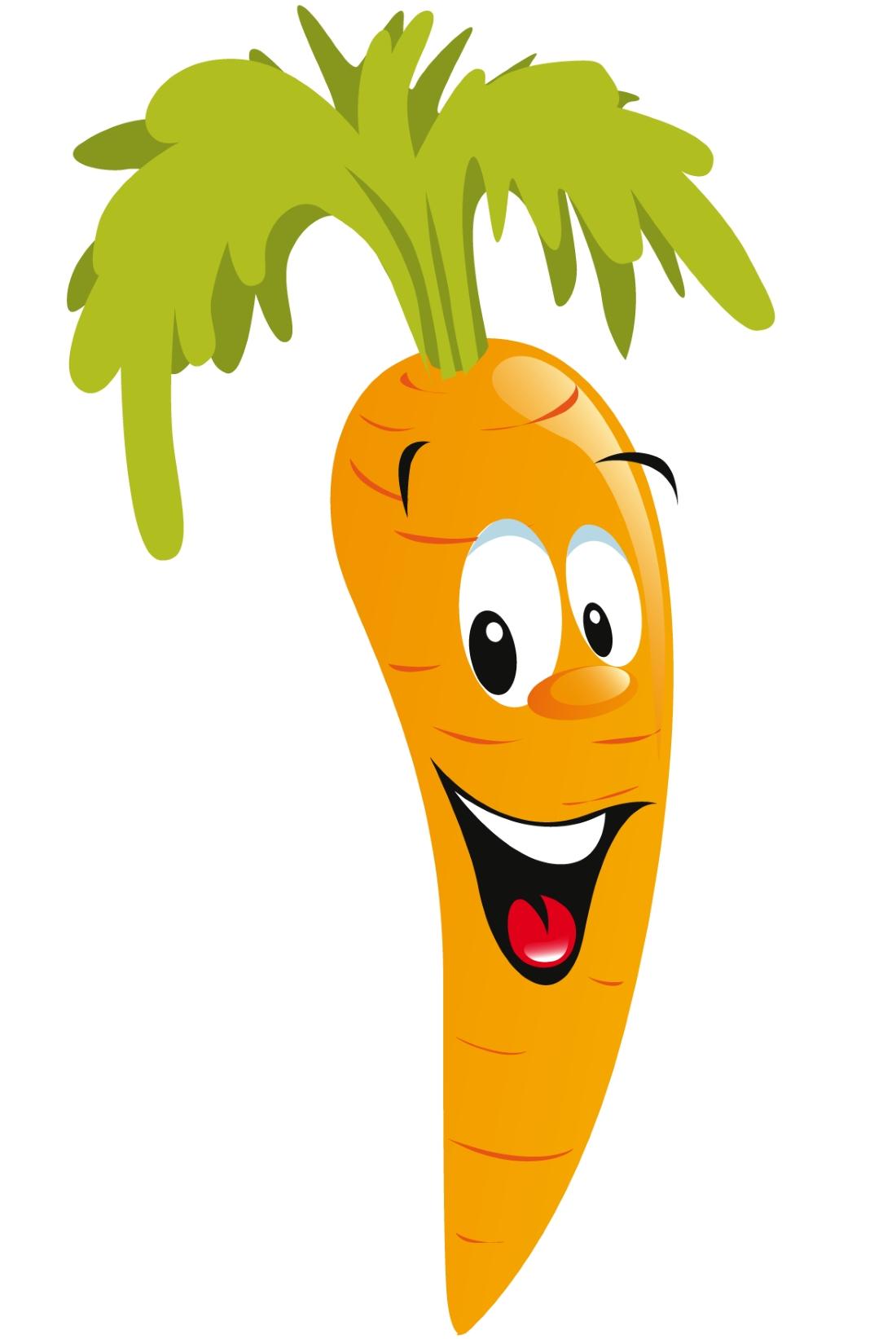Рисунок морковь для детей