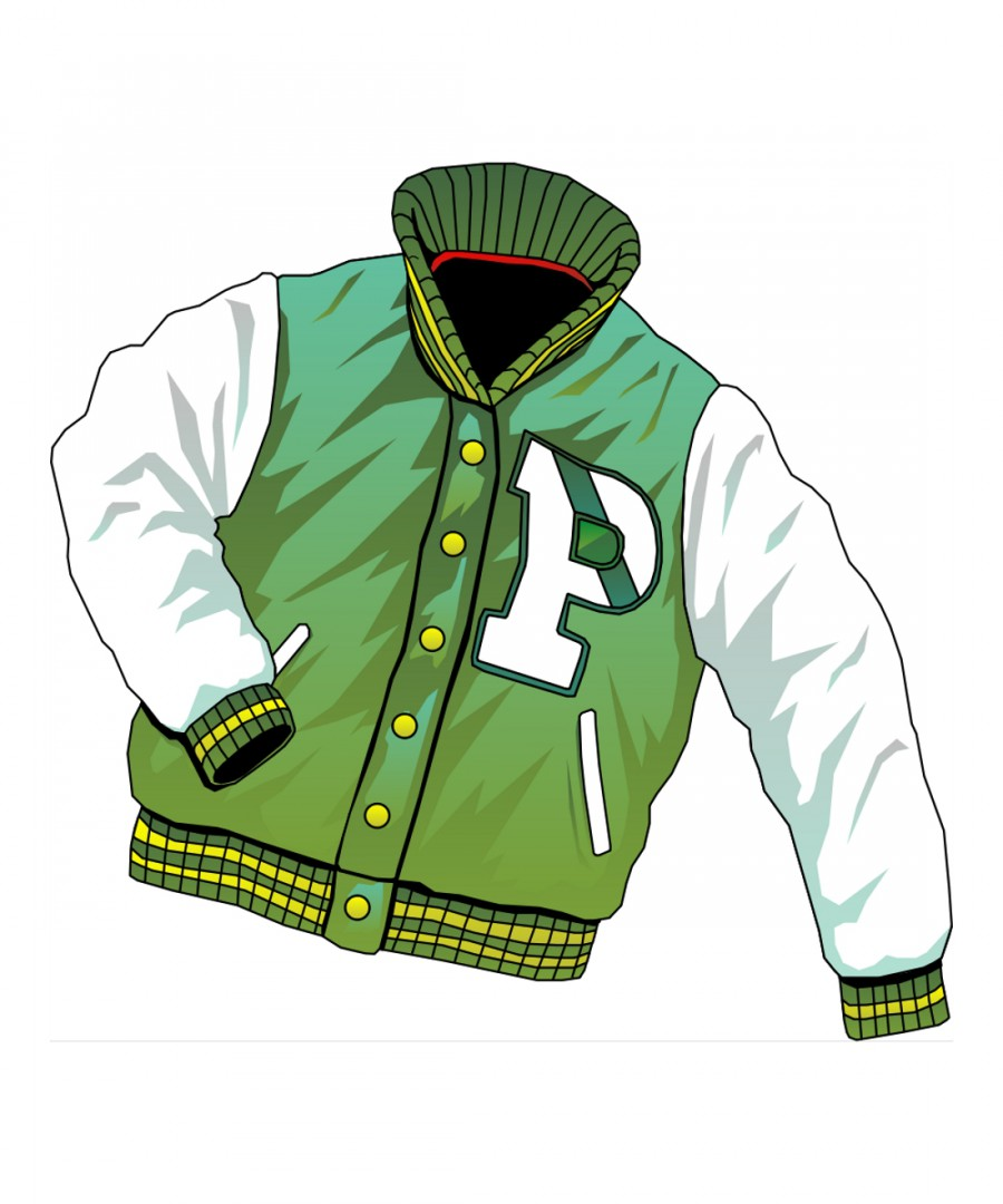 Рисунок на куртку