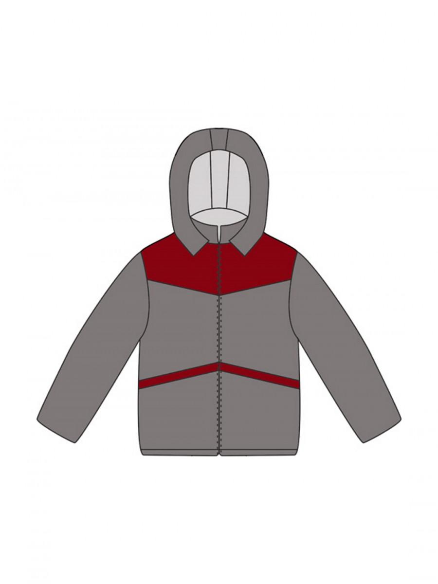 Детская куртка с капюшоном своими руками