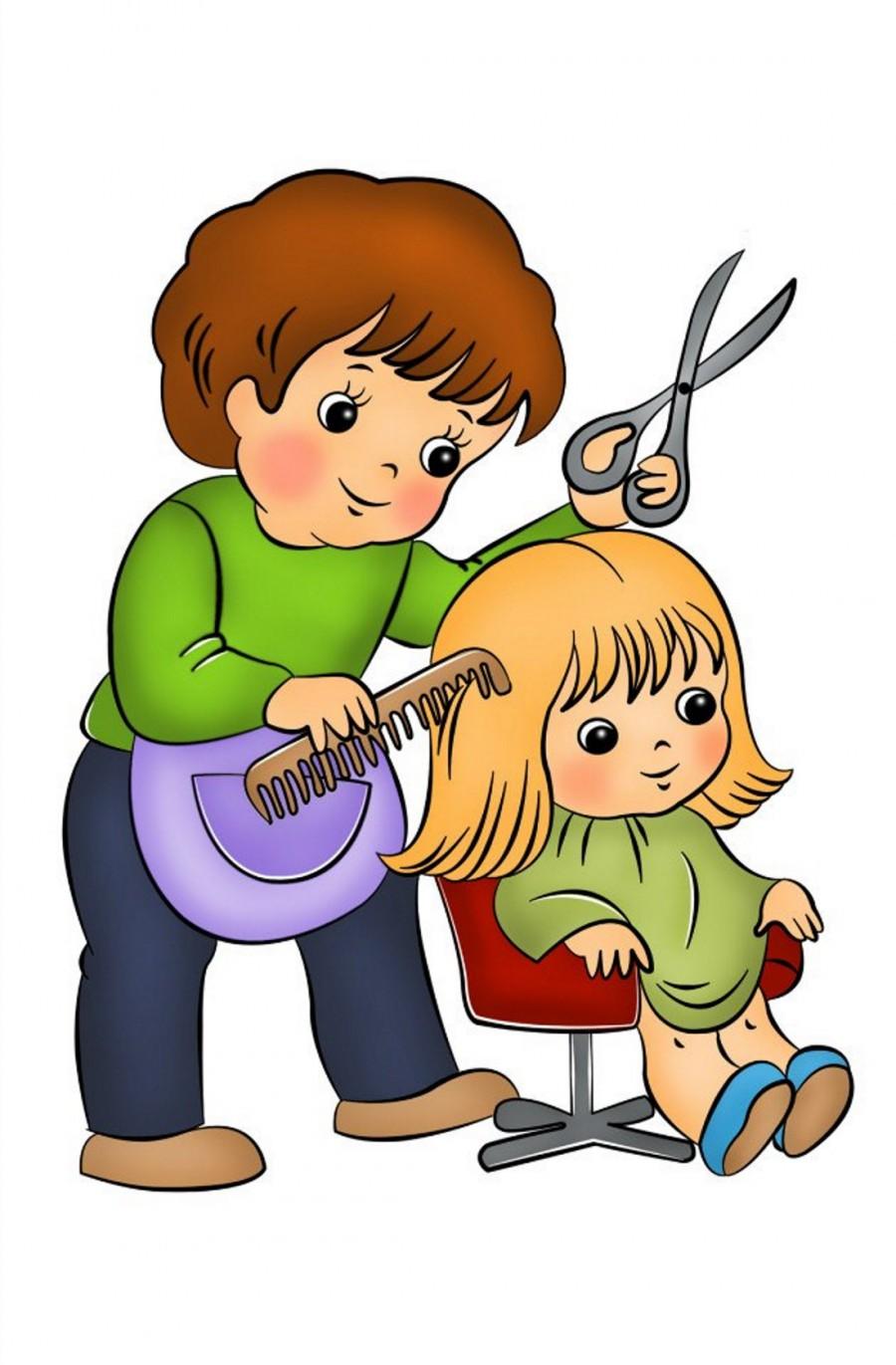 Картинки поздравления с днём парикмахера