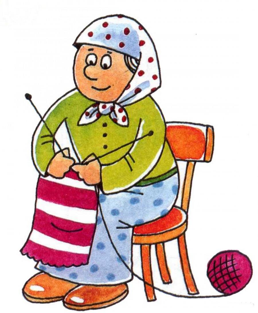 Бабушке нарисовать